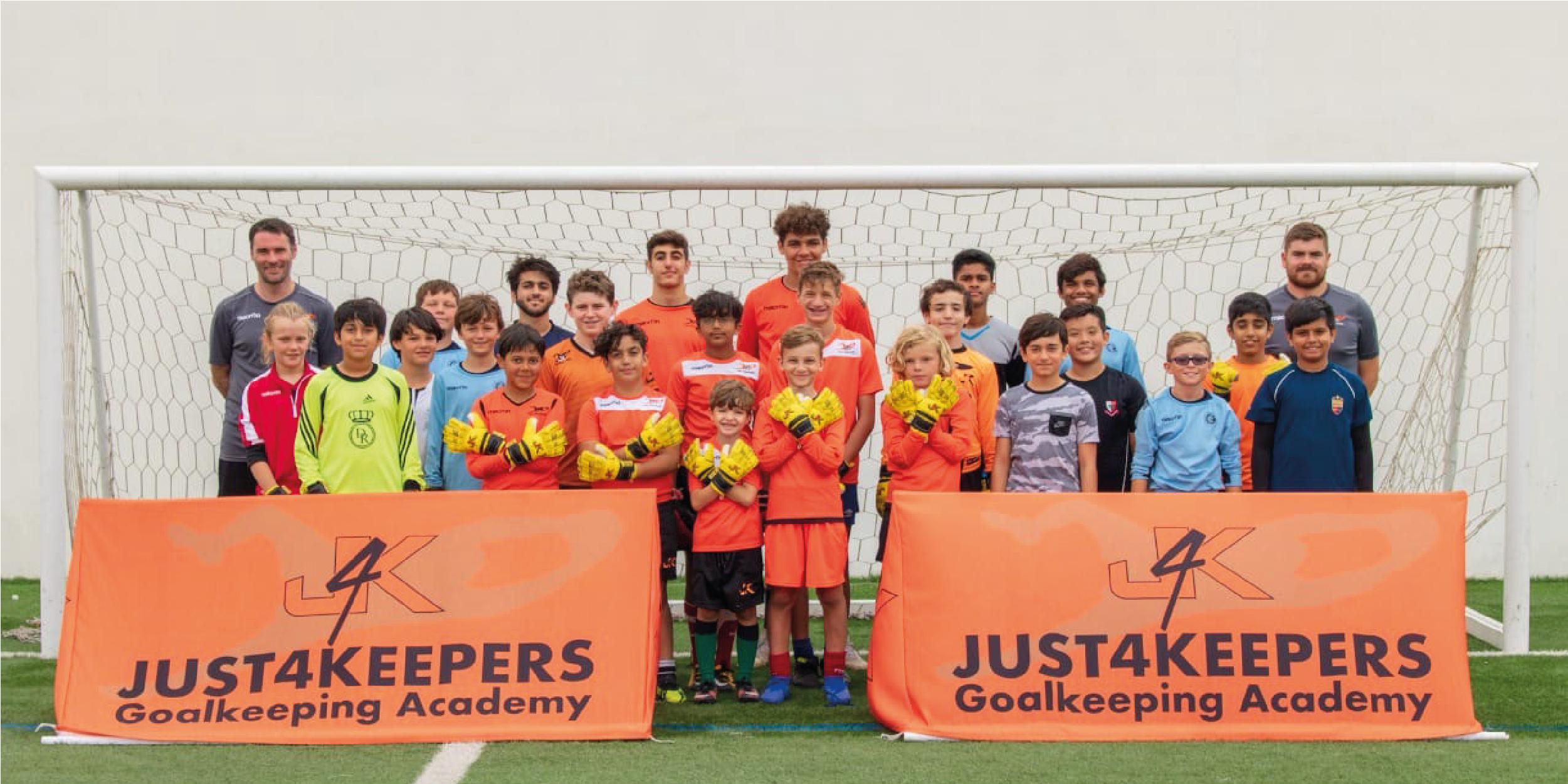 Goalkeeper camps